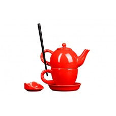 Original First Tea-set Red